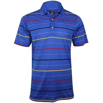 Page & Tuttle Cool Swing Engineered Stripe Shirt Polo Short Sleeve Apparel