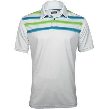Ashworth EZ-TEC2 Performance Double Knit Chest Print AM1118 Shirt Polo Short Sleeve Apparel