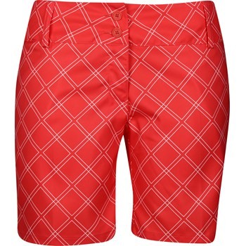 Adidas ClimaLite Diamond Printed Shorts Flat Front Apparel