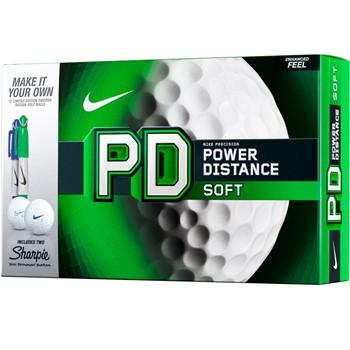 Nike Power Distance Soft Sharpie Golf Ball Balls