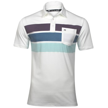 Travis Mathew Bueller Shirt Polo Short Sleeve Apparel