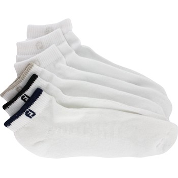 FootJoy ComfortSof Sportlet Assorted 6-Pack Socks Ankle Apparel