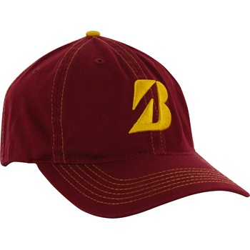 Bridgestone Contrast Stitch Unstructured Headwear Cap Apparel