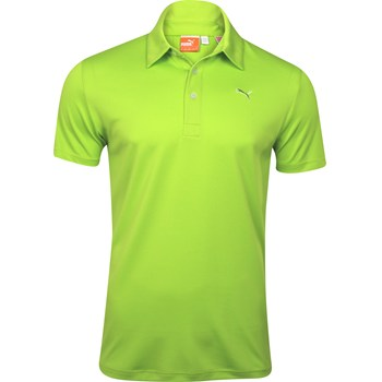 Puma Golf Tech Solid Shirt Polo Short Sleeve Apparel