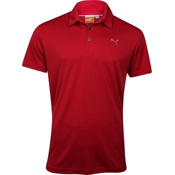 Puma Golf Tech Solid Shirt Polo Short Sleeve Apparel