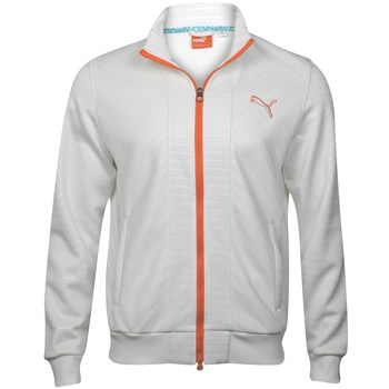 Puma Knit Stripe Outerwear Wind Jacket Apparel