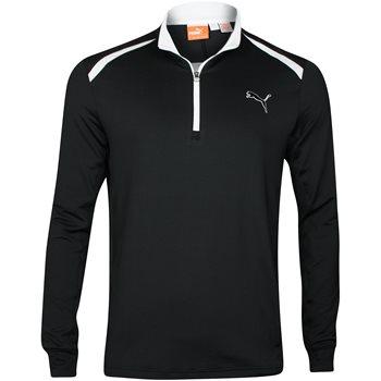 Puma Golf L/S 1/4 Zip Top Outerwear Pullover Apparel