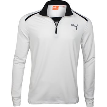 Puma Golf L/S 1/4 Zip Top Outerwear Pullover Apparel