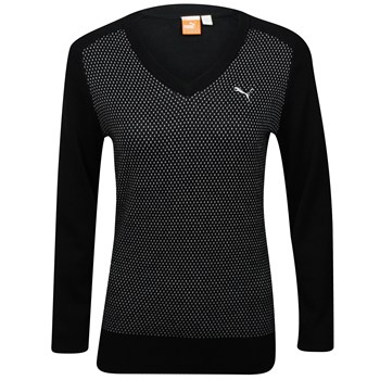 Puma Novelty Sweater V-Neck Apparel