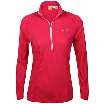 Puma L/S 1/4 Zip Top Outerwear Pullover Apparel
