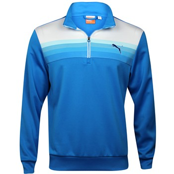 Puma Graphic 1/4 Zip Popover Outerwear Pullover Apparel