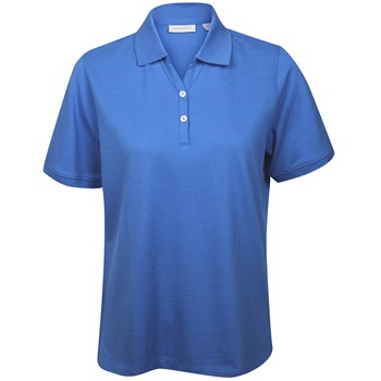 Ashworth Sweetheart Solid Shirt Polo Short Sleeve Apparel