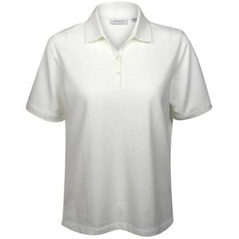 Ashworth Sweetheart Solid Shirt Polo Short Sleeve Apparel