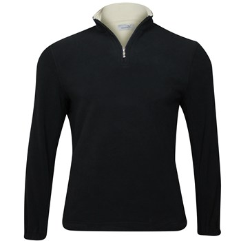 Ashworth 1/2 Zip Microfleece Outerwear Pullover Apparel