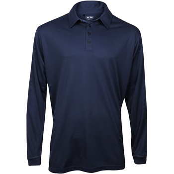 Adidas ClimaLite L/S Stretch Pique Shirt Polo Long Sleeve Apparel