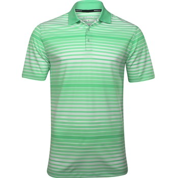 Nike Dri-Fit Key Bold Heather Stripe Shirt Polo Short Sleeve Apparel