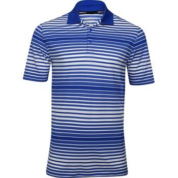 Nike Dri-Fit Key Bold Heather Stripe Shirt Polo Short Sleeve Apparel