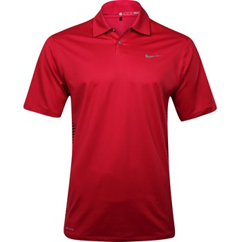 Nike TW Dri-Fit Stretch Engineered Stripe Shirt Polo Short Sleeve Apparel