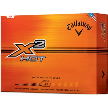 Callaway X2 Hot Golf Ball Balls