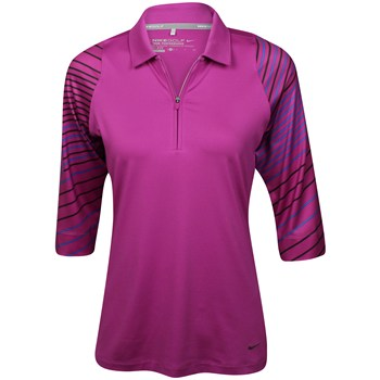Nike Dri-Fit ¾ Sleeve Shirt Polo Short Sleeve Apparel