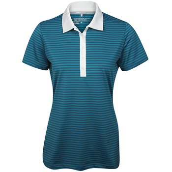 Nike Dri-Fit Stretch Stripe Shirt Polo Short Sleeve Apparel