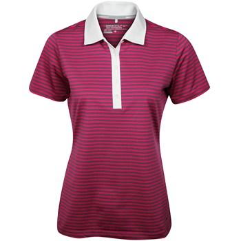 Nike Dri-Fit Stretch Stripe Shirt Polo Short Sleeve Apparel