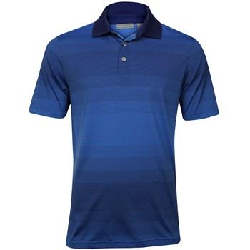 Ashworth EZ-TEC2 Performance EZ-SOF Ombre Stripe Shirt Polo Short Sleeve Apparel
