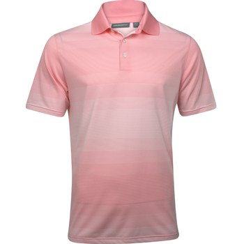 Ashworth EZ-TEC2 Performance EZ-SOF Ombre Stripe Shirt Polo Short Sleeve Apparel