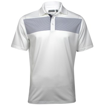Ashworth EZ-TEC2 Performance EZ-SOF Chest Stripe Shirt Polo Short Sleeve Apparel