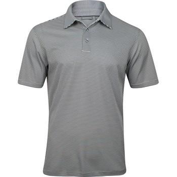 Ashworth EZ-TEC2 Performance Interlock Mini-Stripe Shirt Polo Short Sleeve Apparel