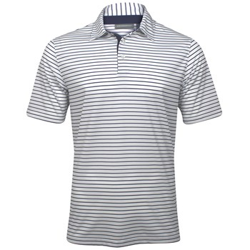 Ashworth EZ-TEC2 Performance EZ-SOF Stripe Shirt Polo Short Sleeve Apparel