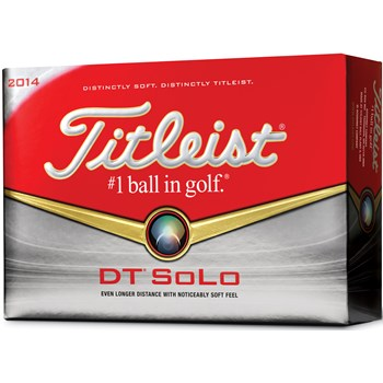 Titleist DT SoLo Golf Ball Balls