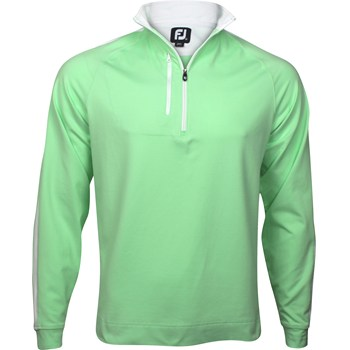 FootJoy Saratoga Brushed Jersey Half-Zip Outerwear Pullover Apparel