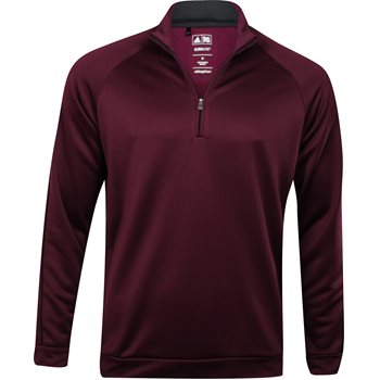 Adidas 3-Stripes Piped 1/4-Zip Outerwear Pullover Apparel