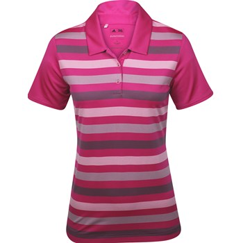 Adidas Puremotion ClimaCool Merch Stripe Shirt Polo Short Sleeve Apparel