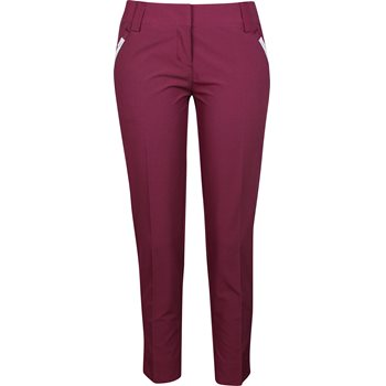 Adidas Contrast Cropped Pocket Pants Flat Front Apparel