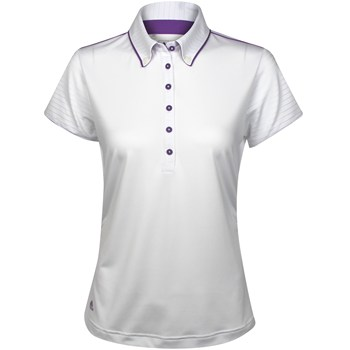 Adidas Puremotion Ruched Shirt Polo Short Sleeve Apparel