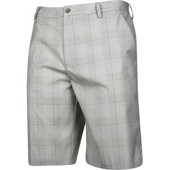 Ashworth Plaid Flat Front Shorts Flat Front Apparel