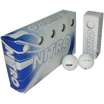 Nitro White Out Golf Ball Balls