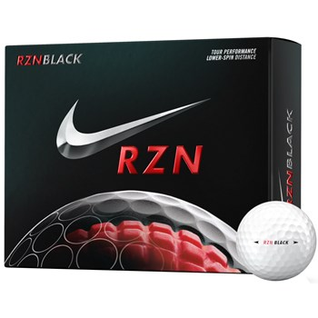 Nike RZN Black Golf Ball Balls