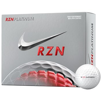 Nike RZN Platinum Golf Ball Balls