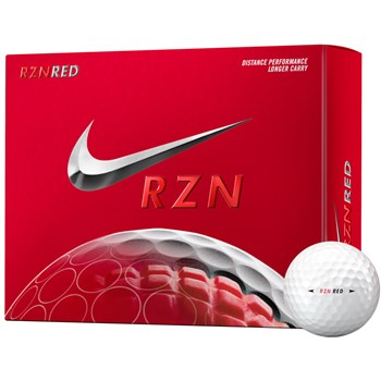 Nike RZN Red Golf Ball Balls