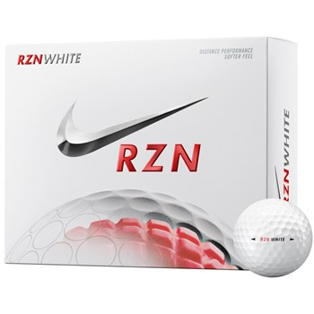 Nike RZN White Golf Ball Balls