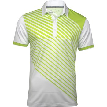 Nike Dri-Fit Sport Stripe Slim-Fit Shirt Polo Short Sleeve Apparel