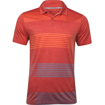 Nike Dri-Fit Sport Pile Stripe Slim-Fit Shirt Polo Short Sleeve Apparel