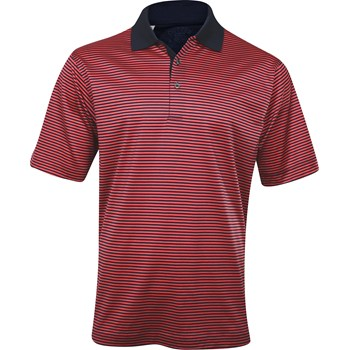 Cutter & Buck St. Andrews Stripe Shirt Polo Short Sleeve Apparel
