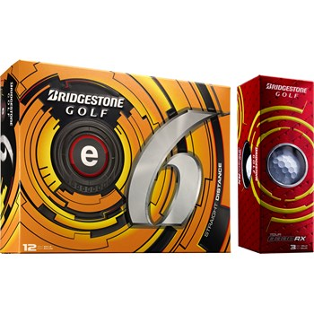 Bridgestone e6 2013 Bonus Pack Golf Ball Balls