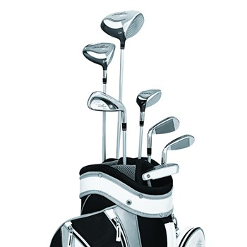 Callaway Solaire Gem 8-Piece Black Club Set Preowned Golf Club