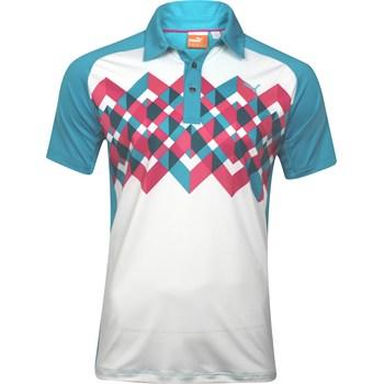 Puma Raglan Graphic Shirt Polo Short Sleeve Apparel