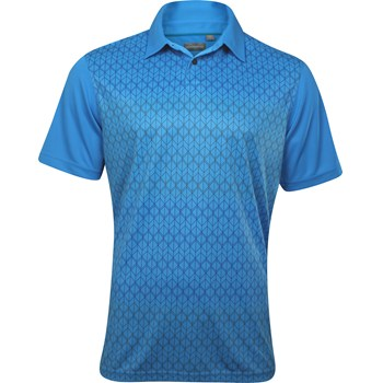 Ashworth EZ-TEC2 Performance Double Knit Front Panel Shirt Polo Short Sleeve Apparel